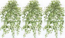 """3 Artificial 36"""" English Ivy Bush Plant Arrangement Palm Bush Topiary Flower Den"""