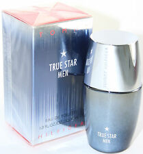 TRUE STAR MEN BY TOMMY HILFIGER 1.0 OZ EDT SPRAY FOR MEN WITH NEW IN BOX
