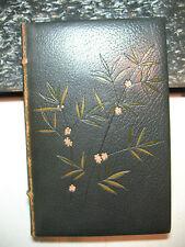 OEUVRES de FRANCOIS VILLON rare antique old leather Robida illustrations Paris
