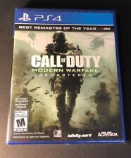 Call of Duty Modern Warfare [ Remastered ] (PS4) NEW