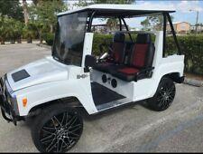 2017 Hummer H3 Golf Cart 4 passenger seat custom with canopy
