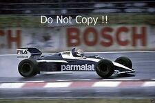 Nelson Piquet Brabham BT52B German Grand Prix 1983 Photograph 2