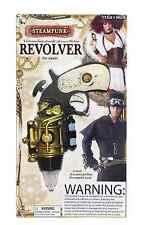 Steampunk Vintage Victorian Plastic Revolver Toy Gun Pistol Costume Accessory