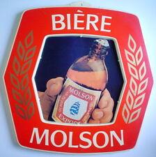 ONE '70s BIÈRE MOLSON ALE SIGN **** UNE PANCARTE BIÈRE MOLSON DES ANNÉES 70