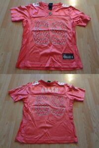 Women's Minnesota Vikings Jared Allen S Jersey (Pink) Glitter Reebok Jersey