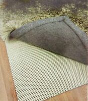 SUPER GRIP NON SLIP PROTECTIVE UNDER RUG PAD All SIZES DOOR MAT RUG