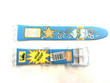 17mm SWATCH watches Fits Replacement Watch Band Strap