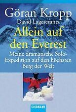 Allein auf den Everest: Meine dramatische Solo-Expeditio... | Buch | Zustand gut