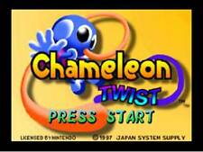 Chameleon Twist - Nintendo N64 Game