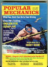 Popular Mechanics Magazine July 1967 Underwater Aquaplane VG 032416jhe
