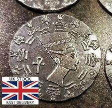 🇬🇧1/10 oz MPM .999 FINE Silver Egyptian Queen Nefertiti Silver Coin Round