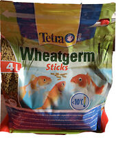 Tetra Pond Wheatgerm Sticks 4L Winter Garden Fish Food Floating Stick
