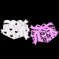 Gift Box Metal Cutting Dies Stencil For Scrapbook DIY Album Card Making Decor xd