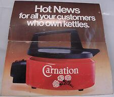 HOT CHOCOLATE : 20 HOTTEST HITS Carnation PROMO Vinyl LP Album 33rpm Excellent+