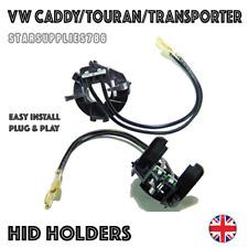 2x H7 VW CADDY TOURAN TRANSPORTER HID HEADLIGHT KIT BULB HOLDERS ADAPTORS