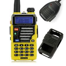 Baofeng UV-5R Plus Qualette V/U 136-174/400-520 MHz Two-Way Radio + Speaker US