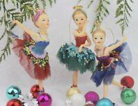 GISELA GRAHAM CHRISTMAS FAIRY TALES BALLERINA PRINCESS DECORATION