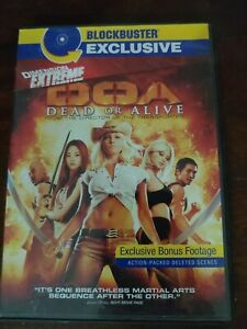 DOA: Dead or Alive DVD (Blockbuster Exclusive)