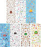 Nail Art Water Decal Transfers Stickers Gel Nail Polish Flowers Spring Summer
