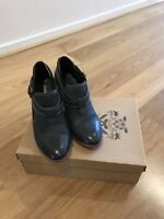 Gorman Leather Ella Ankle Boots *Charcoal Size 38 *RRP 329 *Excellent Condition!