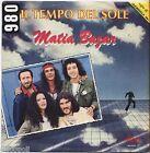 """MATIA BAZAR - Il tempo del sole - VINYL 7"""" 45 LP 1980 VG+/VG- CONDITION"""