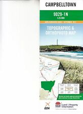 Campbelltown 9029-1N  NSW 1:25,000 LPI topographic map brand new latest edition