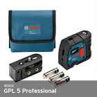 THE VERY BEST Bosch GPL 5 R 5-Point Self-Leveling Alignment Laser - BRAND NEW!