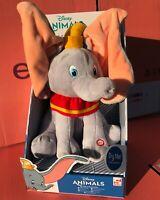 NEW Disney Animals Peek-A-Boo 30 cms Dumbo Soft Baby Toy Plush Sound & Movement