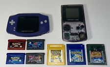Gameboy Color GBA/GBC With Authentic Pokemon Ruby, Sapphire, Yellow, Blue & More