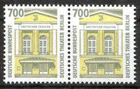 Bund 1691 postfrisch waagerechtes Paar BRD SWK Sehenswürdigkeiten ungefaltet MNH