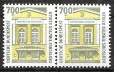 Bund 1691 postfrisch waagerechtes Paar BRD SWK Sehenswürdigken ungefaltet MNH