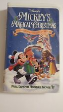 DISNEY'S~MICKEY'S MAGICAL CHRISTMAS~SNOWED IN AT THE HOUSE OF MOUSE~VHS, 2001