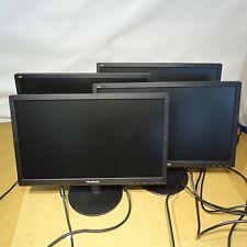 """(4) VA1917A View Sonic 18.5"""" Computer Monitors"""