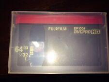 FujiFilm DP1001 DVCPRO HD 64EX/32L Tape**Brand NEW!