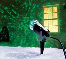 Gemmy LED Lightshow Projection Kaleidoscope GREEN Christmas Light