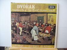 DECCA SXL 6291 NB DVORAK Symphony No 9 New World KERTESZ LSO UK STEREO VINYL LP