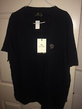 PAUL SMITH MENS XL BLACK SHORT SLEEVED T-SHIRT (NEW WITH TAGS)