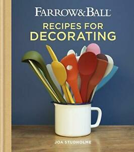 Farrow & Ball Recipes for Decorating | Hardcover | Brand NEW