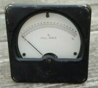Vintage WACLINE 1300 PANEL GAUGE % Full Scale