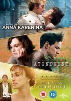 Joe Wright - Anna Karenina / Atonement / Pride & Prejudice DVD Nuevo (8307896)