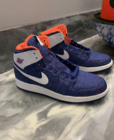 Nike Air Jordan 1 Retro High GS Deep Royal Blue Size 8.5Y