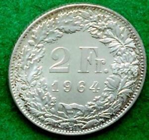 Switzerland. 1964 2 Francs.