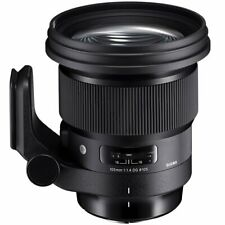 Sigma 259954 105mm f/1.4 Art Lens for Canon EF/ Sony E - Black