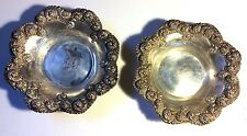 2 Ornate Sterling Silver Bowls by J.F.Fradley & Co