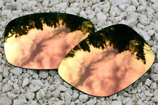 Peach Gold Mirrored Replacement Sunglass Lenses for Oakley Jupiter Carbon
