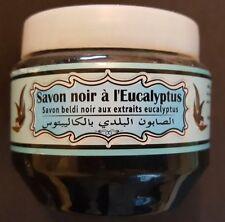 Premium Moroccan Olive And Eucalyptus Savon Noir/Beldi/Black Soap 250gm net
