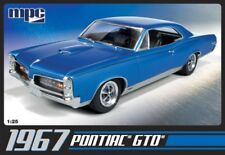 1967 Pontiac GTO Muscle Car 1:25 Scale MPC Plastic Kit