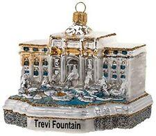 Trevi Fountain Rome Italy Polish Glass Christmas Tree Ornament Decoration 110189