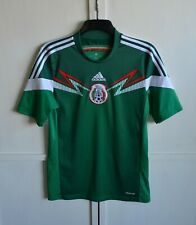 MEXICO NATIONAL TEAM WORLD CUP 2014 HOME FOOTBALL SHIRT SOCCER JERSEY SIZE (S)