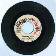 Philippines MICHAEL JACKSON Morning Glow 45 rpm Record